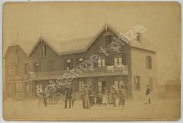 Cabinet 1890-1900 F. De Mauny à Boulogne-sur-Mer . Le Touquet-Paris Plage . Hôtel . Café-restaurant Marcollé-Caudron . - Photos