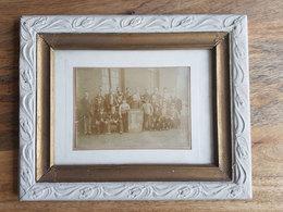 """Ancienne Photo De Groupe D'ouvriers """"ajusteurs"""" Belges - Mine/charbonnage/Belgique/Chantier/Industrie/Métallurgie - Mestieri"""