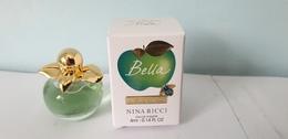 MINIATURE PARFUM  NINA RICCI BELLA   EDT 4ml   NOUVEAUTE 2019  NEUF Voir Photo - Miniatures Womens' Fragrances (in Box)