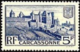 France Architecture N°  392 ** Site - Rempards De La Cité De Carcassonne - Castillos