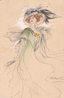 Liberty  ,  L'affascinante  Leggerezza  -  Ill.  F. Occhipinti  -  Edit. Fres, Paris  -  N°. 0121 - Illustratori & Fotografie