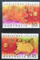 Christmas Island 2007  Year Of The Boar POSTAGE FEE TO BE ADDED ON ALL ITEMS - Christmas Island