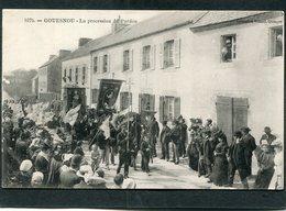 CPA - GOUESNOU - La Procession Du Pardon, Très Animé - Autres Communes