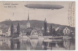 Zeppelin über Stein Am Rhein - 1930            (P-169-70607) - SH Schaffhouse