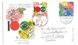 Football Centennial Of Japan Brazil Friendship Japon Bresil - Voetbal