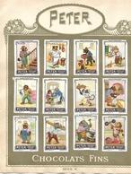 Images Chocolat Peter. 21 Humour Et Nids. Séries V Et VI. Collées Sur Feuille Album Peter. Envoi 1,72 €. - Autres