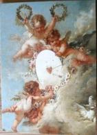 ANGELOT ENFANTS NUS LA CIBLE D'AMOUR DETAIL THE TARGET OF LOVE FRANCOIS BOUCHER GRD FORMAT - Anges