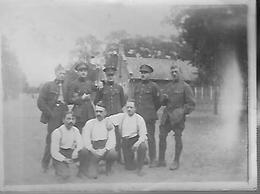 BELGIQUE - Photo D'un Groupe De Soldats - Guerre, Militaire