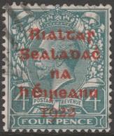~~~ Ierland Ireland 1922 - Provisional Overprint  - Mi. 5 B (o) - CV 20.00 Euro  ~~~ - 1922 Voorlopige Overheid