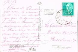 33098. Postal  CORBERA De LLOBREGAT (Barcelona) 1973, Fechador C.E.M. Especial Motorizado - 1931-Hoy: 2ª República - ... Juan Carlos I