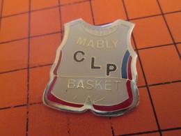 713g Pin's Pins / Beau Et Rare / THEME : SPORTS / CLUB CLP BASKET MABLY - Basketball