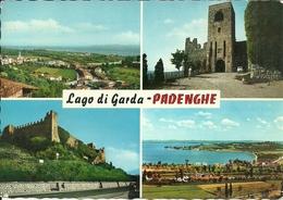 Padenghe Sul Garda (Brescia) Vedute E Scorci Panoramici: Lago Di Garda E Castello, Panoramic Views, Vues Panoramiques - Brescia
