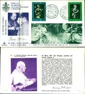 12095a)F.D.C.serie Concilio Ecumenico Vaticano II- 18-11-63 SESSIONE II-PAOLO VI - FDC