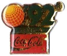 C58 - EXPO SEVILLE'92 - SEVILLA - Verso : R TCO / C 92 EXPO'92 /SA 1989 - Coca-Cola