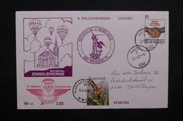 BELGIQUE - Enveloppe Par Ballon En 1987 , Voir Cachets - L 31792 - Cartas