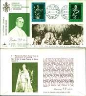 12096a)F.D.C.serie Concilio Ecumenico Vaticano II- 18-11-63 SESSIONE II-PAOLO VI - FDC