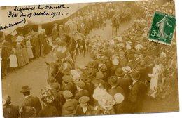 Carte Photo Lignieres La Doucelle Fete Du 19 10 1913 - France