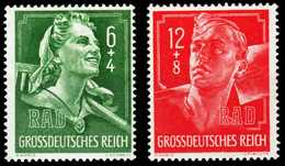 3. REICH 1944 Nr 894-895 Postfrisch S60C2E6 - Germany