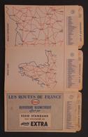 Répertoire Kilométrique Des Routes De France Proposé Par La Compagnie Pétrolière Esso - Cartes Routières