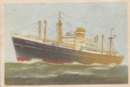 HOLLAND AMERICA LINE 5x Captain Grant Virginia Cigarettes - Cigarette Cards
