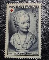 Timbre Neuf - Croix Rouge - 1950 - Portrait De Brongniart Enfant -  8 F   + 2 F - Francia