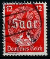 3. REICH 1934 Nr 545 Gestempelt X86464E - Germany