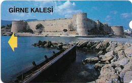 North Cyprus - Alcatel - K.K.T.C. - Girne Kalesi (Kyrenia Castle), 1992, 100U, Used - Cyprus