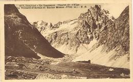 33103. Postal VILLARD D'ARENE (Hautes Alpes). Le Lautaret, Dauphiné. Roche Mesne - Otros Municipios
