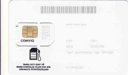Sweden GSM SIM Mint Card Comviq, Dog - Suède