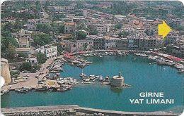 North Cyprus - Alcatel - K.K.T.C. - Girne Yat Limani (Kyrenia Marina), 1998, 100U, Used - Cyprus