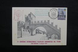 SAINT MARIN - Carte Par Ballon En 1976, Voir Cachets - L 31805 - Lettres & Documents