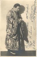 SUPERBE Carte Photo DEDICACEE - Louis Morrisson - 1933 - Ténor Opéra Comique - RARE DOCUMENT - Artistes