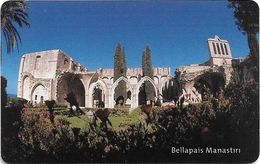North Cyprus - Chip - K.K.T.C. - Bellapais Manastiri, 2002, SC7, 300U, Used - Cyprus