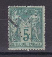 CP67/ SAGE N° 75 CACHET JOUR DE L AN - 1876-1898 Sage (Type II)