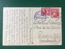 Tchécoslovaquie, Carte D'Horni Jiretin De 1945 - (W1201) - Tschechoslowakei/CSSR