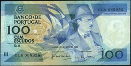 PORTUGAL - 100 Escudos 26.05.1988 Fine+ P.179 E(2) - Portugal