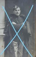 Photo ABL Cavalerie ? Pre WW1 Belgische Soldaat Soldat Belge Calot Capote Uniforme Militaria ABL Leger Soldat - Guerre, Militaire