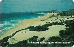 North Cyprus - Chip - K.K.T.C. - Karpaz' Dan Bir Görüntü, 2004, Solaic 03, 100U, Used - Cyprus