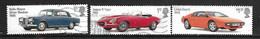 GB 2013 BRITISH CARS TRIO - 1952-.... (Elizabeth II)