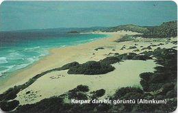 North Cyprus - Chip - K.K.T.C. - Karpaz' Dan Bir Görüntü, ''For KKTC Telekom.. .ISSUE'', Axalto 03, 2005, 100U, Used - Cyprus