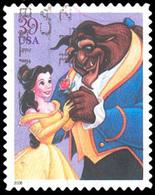 Etats-Unis / United States (Scott No.4027 - The Art Of Disney: Romance) (o) - Etats-Unis
