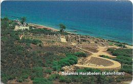 North Cyprus - Chip - K.K.T.C. - Salamis, Red CN, SC7, 200U, 2001, Used - Cyprus