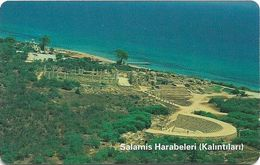 North Cyprus - Chip - K.K.T.C. - Salamis, ''For Netas Millennium Terminals ..ISSUE'', Axalto 03, 200U, 2005, Used - Cyprus