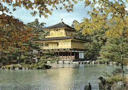 1 AK Japan * Kinkaku-ji Tempel - Auch Goldener-Pavillon In Kyoto - Seit 1994 UNESCO Weltkulturerbe * - Kyoto