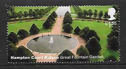GB 2018 HAMPTON COURT GREAT FOUNTAIN GARDEN HV - 1952-.... (Elizabeth II)
