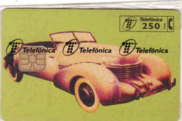 Spain Chip Auto Telefonica In Blister, Tirage  6 000 - Espagne