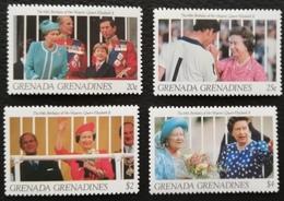 Grenada Grenadines 1991 Royal Family Anniversary LOT - West Indies