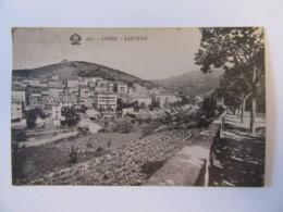 Corse N°283 - Sartène - Vue Générale - Carte Circulée En 1934 - Sartene