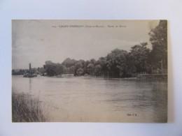 Lagny-Thorigny N°114 - Bords De Marne - Carte Circulée En 1935 - Lagny Sur Marne