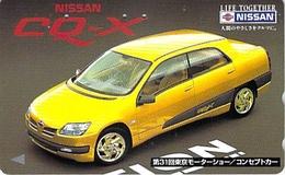 NISSAN - AUTO  - VOITURE - AUTOMOBILE - CAR -- TELECARTE JAPON - Voitures